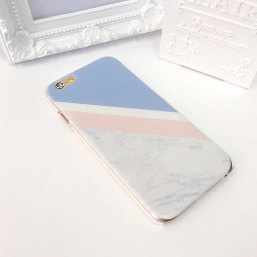 2016 Color Rose Quartz Serenity Marble Print Soft / Hard Case for iPhone X,  iPhone 8,  iPhone 8 Plus,