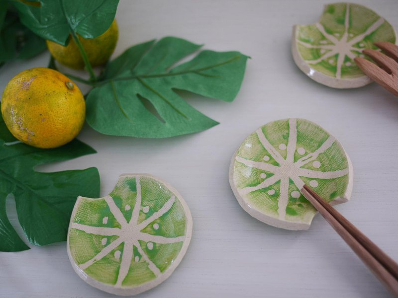 果物箸置【ライム】/cutlery rest of fruits【lime】