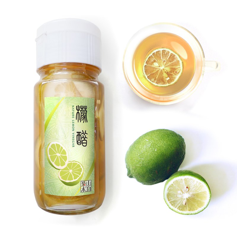 [梁山水泊] natural lemon fruit vinegar