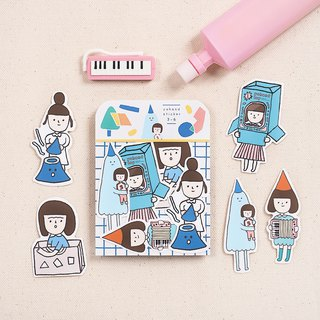 Game / Medium Sticker Set 3-6