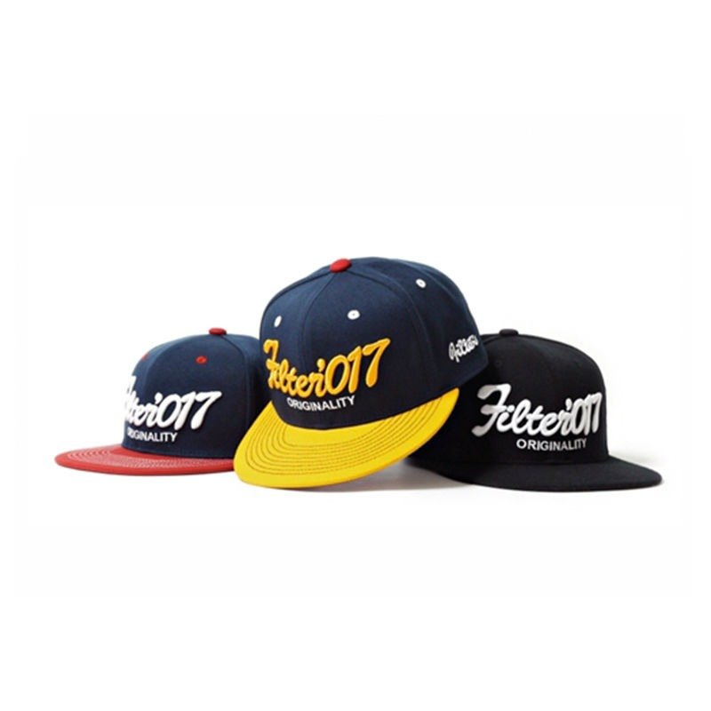 Filter017 Vintage Fonts Fitted Cap / 復古字體全封式棒球帽