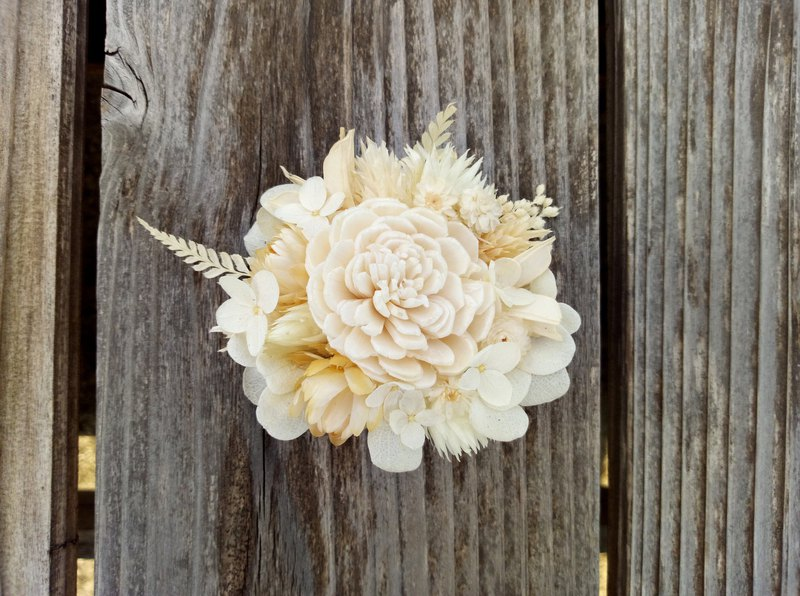 Fine snow||Dry flower hairpins, dry flowers, no flowers, weddings, hand-made