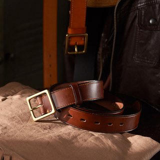 Wide range of fruits and vegetables good side pressure vegetable tanned leather belt deep coffee