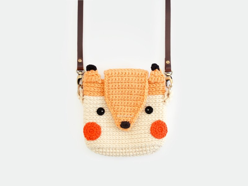 Crochet Case for Fuji Instax Camera - Cute Fox