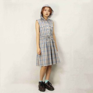Tsubasa.Y Ancient House 022 Plaid Party Vintage Dress, Dress Skirt Dress