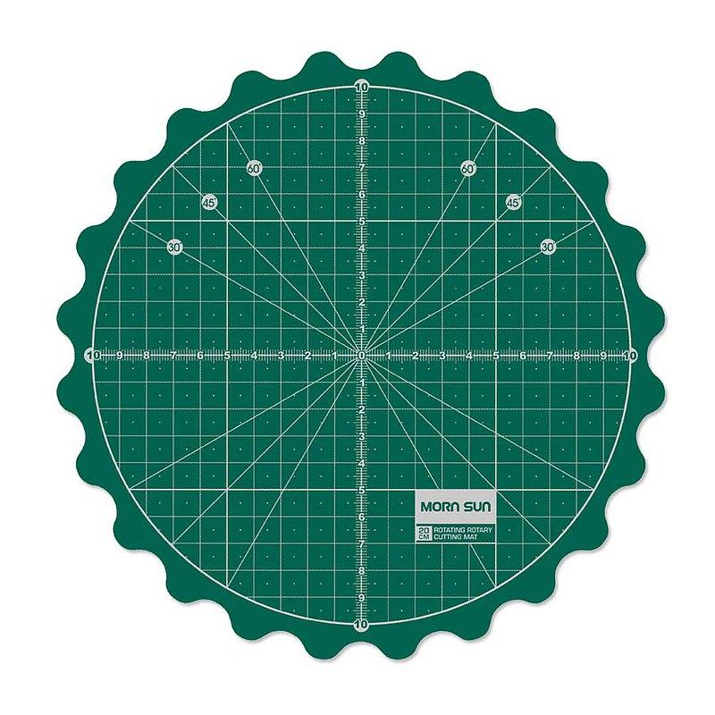專利設計 撥動式旋轉拼布切割墊(直徑35cm / 14吋) 拼布切割禮物