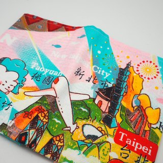 JB Design Cultural & Creative Taiwan cloth map