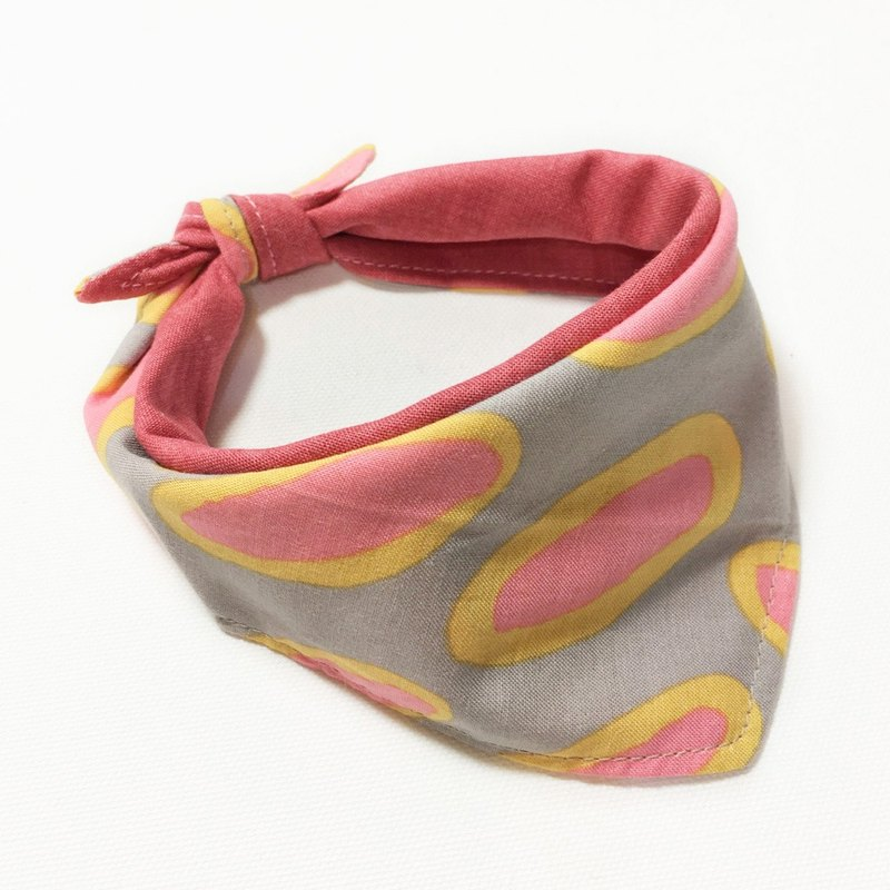 Dogs exclusive scarf - custom (small and medium sized dog) - biscuits