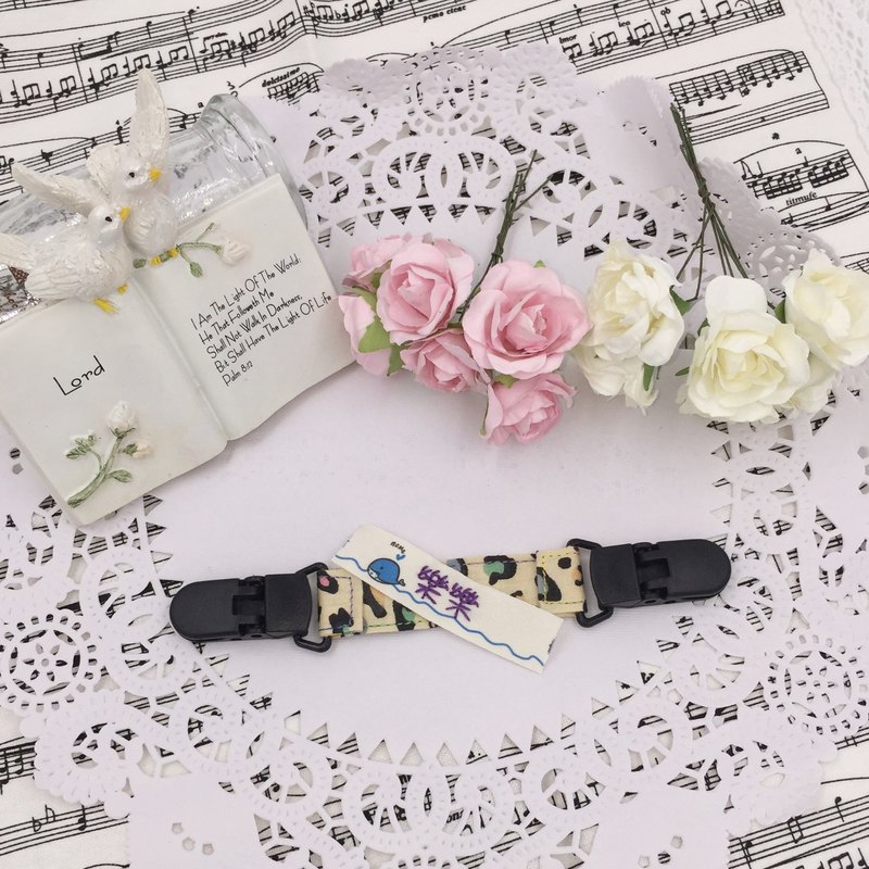 * Princess puff sugar - Hand-headed handkerchief ★ Universal clip clip pacifier clip ★ ★ ★ Name Article Kindergarten necessary Flag ★ E-49