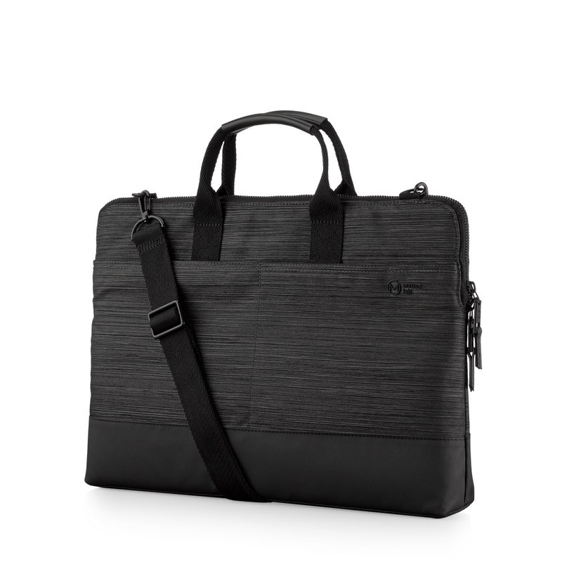 Anti-pollution and water-repellent Metro 15.6 吋 commute quick-fetch business bag - gentleman black