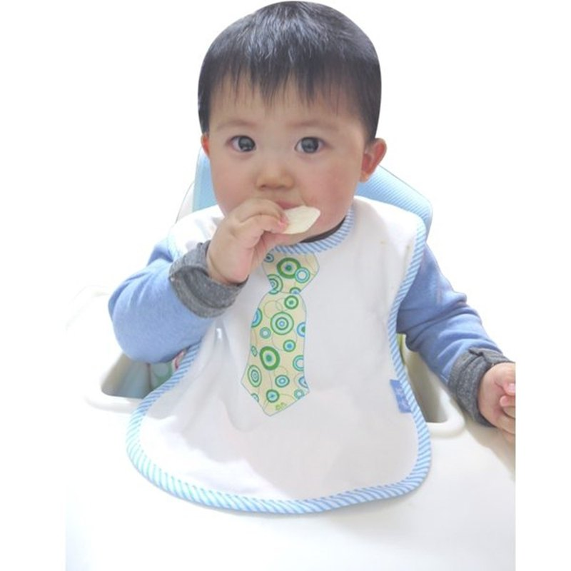 Tie style waterproof bib - Bubble