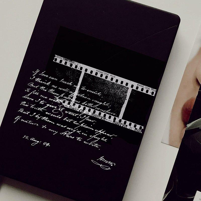 【暗房影像】in1制物 原創木製印章 手賬印章 含禮物包裝