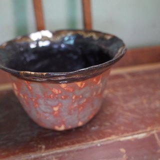 Old things Antique (black red bowl)