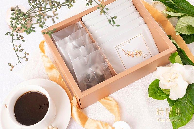 【謬謬咖啡】時間集-春Spring 精品濾掛咖啡茶禮盒