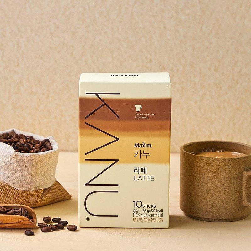 KANU 漸層奶香 拿鐵/雙拿鐵 咖啡 135g(13.5g×10入/盒)