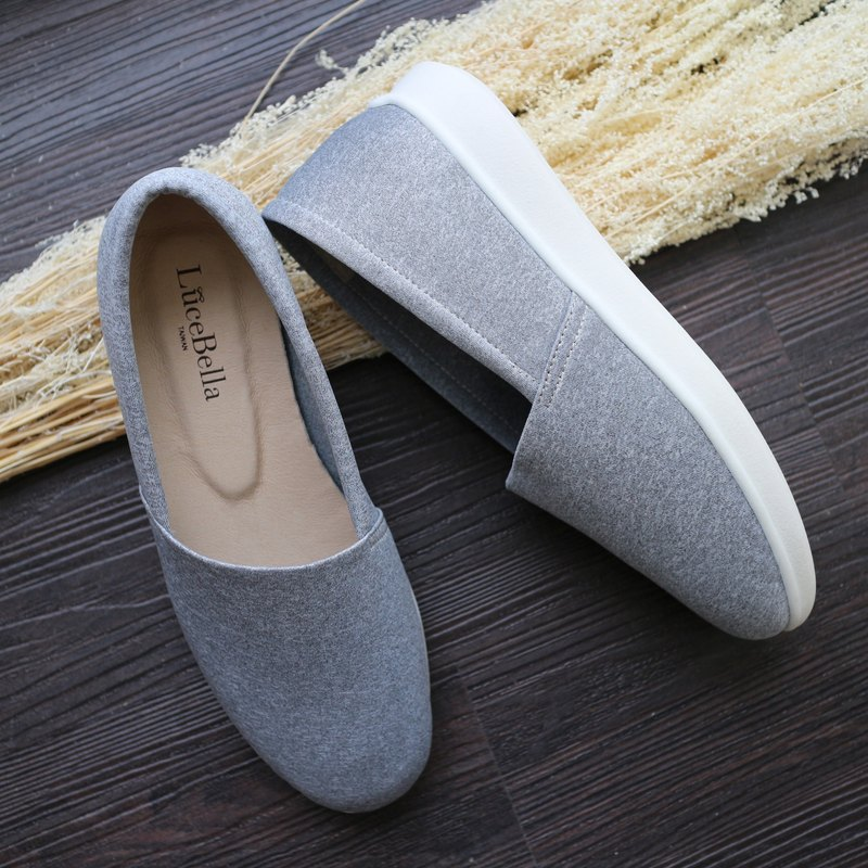 [National Xiaowenqing] Lycra breathable casual shoes-light gray-only 22.5 left