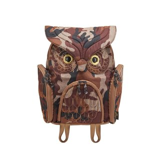 Morn Creations genuine classic owl No. M - Camouflage (OW-342-CA)