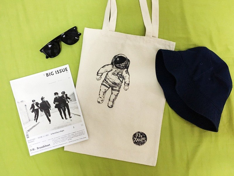 Cosmic Man canvas bag