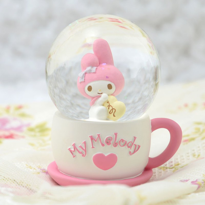 My Melody Tea Time 水晶球擺飾