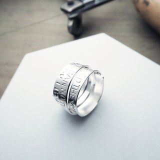 ART64 Workshop・Wide/Narrow Edition Wrapped Sterling Silver Ring Handmade Experience