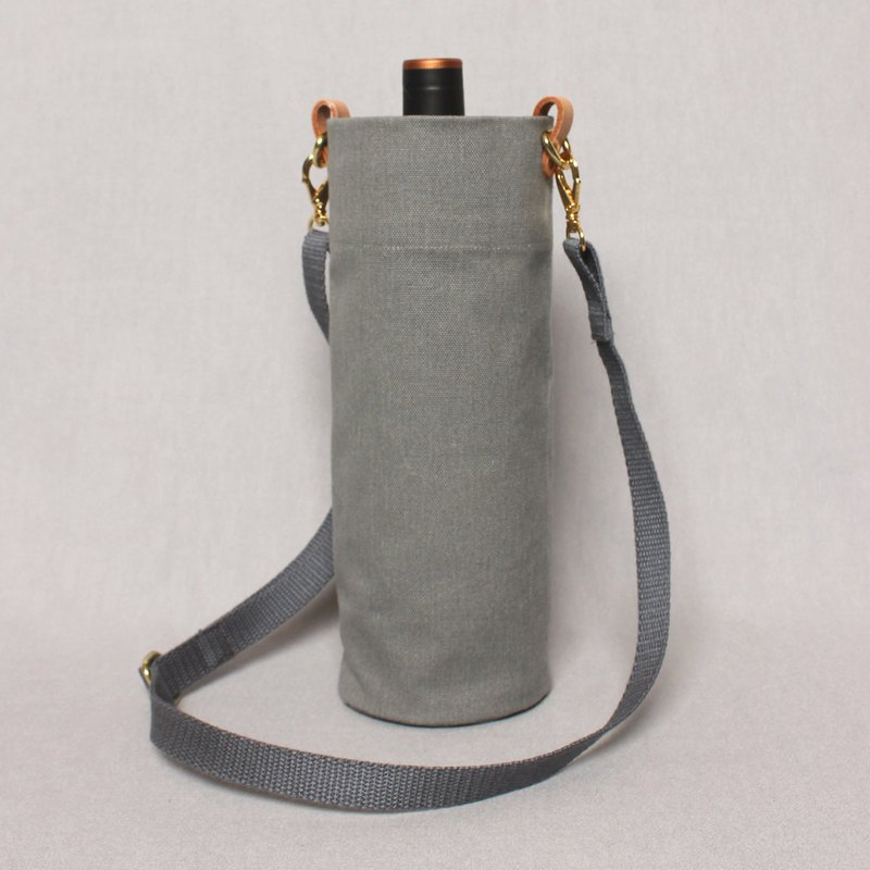 Kettle bag beverage bag mug bag wine bag - mud gray / shoulder