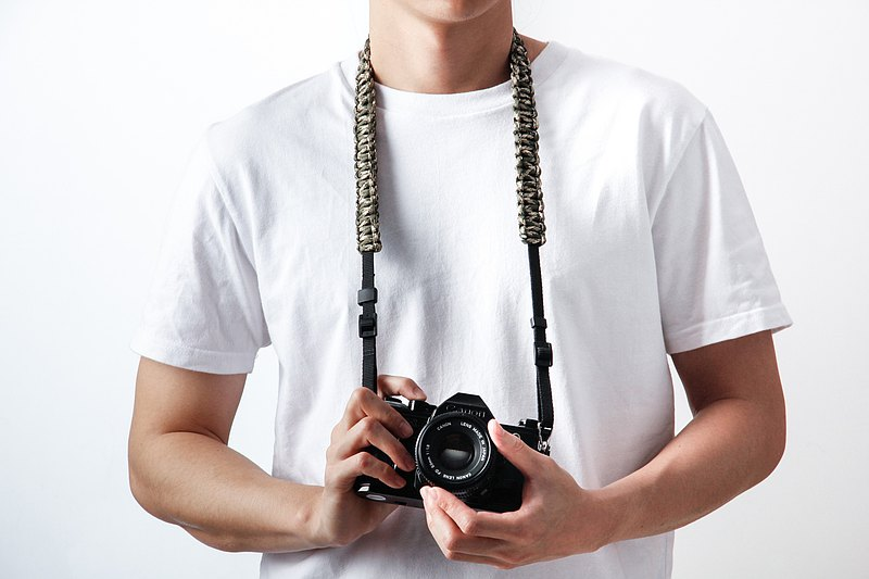 [Customized] Hand-woven skydiving rope camera strap camera peripheral multi-color optional