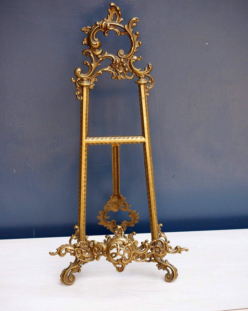 British brass classic large easel