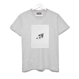 HypA White Cloth Grey Tee / ASG14