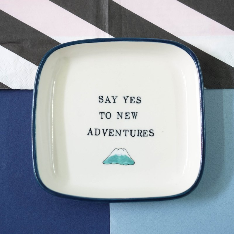SQUARE DISH + Quote