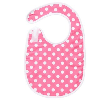 Pink little bibs / Mi moon gift birthday ceremony