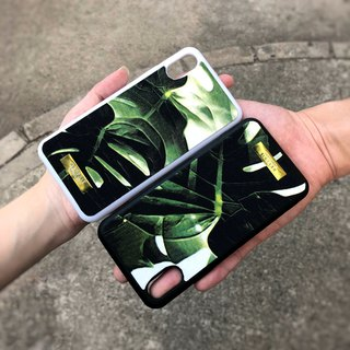 Cloth Fabric Fabric Mobile Shell - Tropical Garden (iphone X/8plus/8/7/7plus/6plus/6)