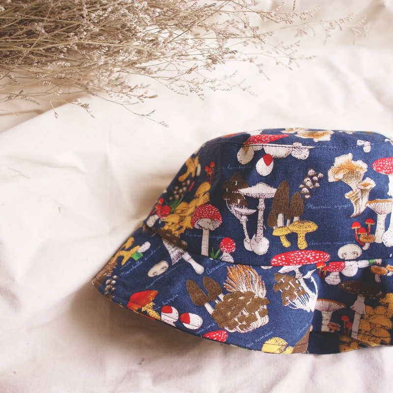 World mushrooms handmade hat