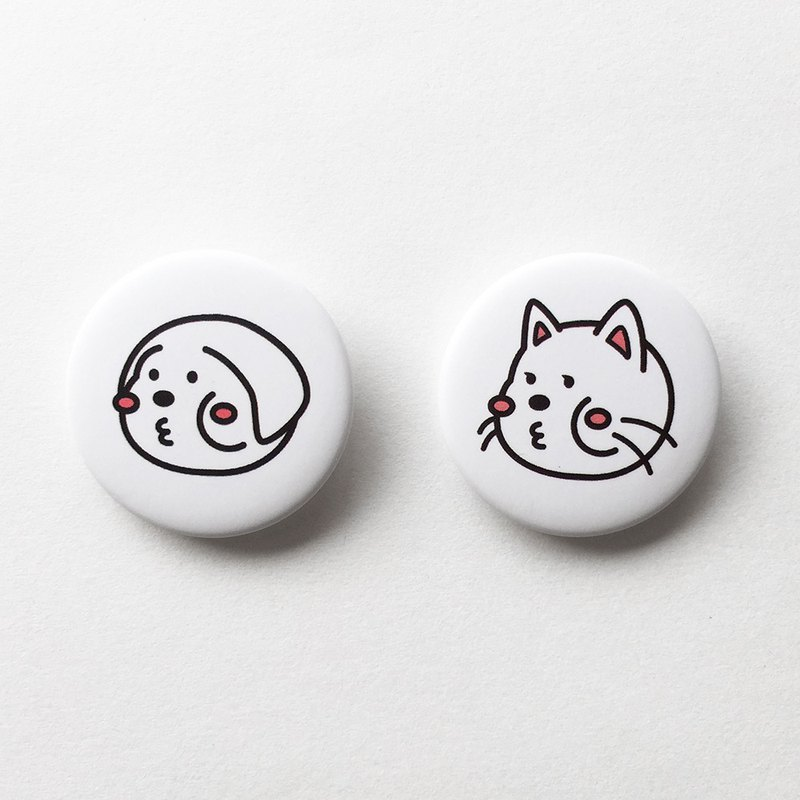 cheeky buddy cheeky dog & cat pins