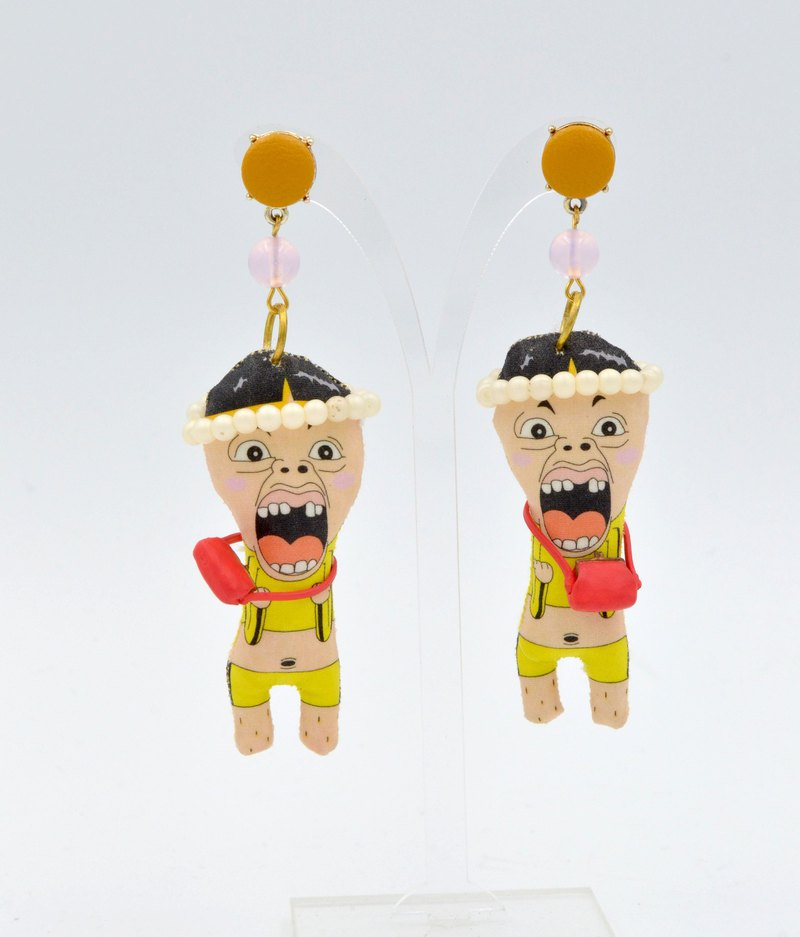 TIMBEE LO hand-made doll earrings have only one single for sale