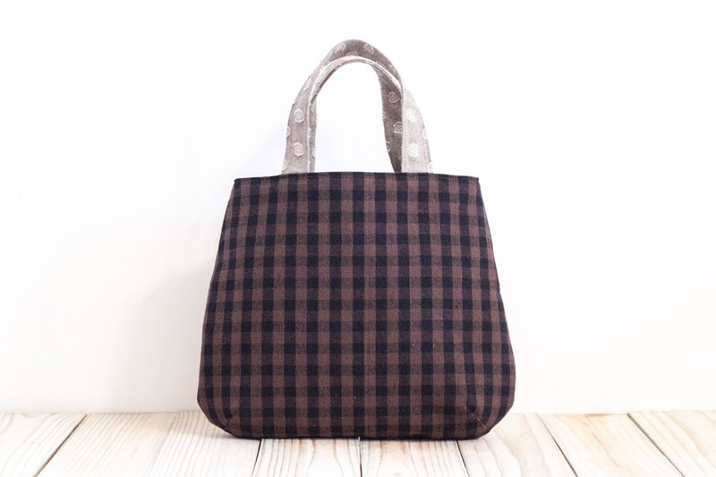 Walking bag - dark brown EH116