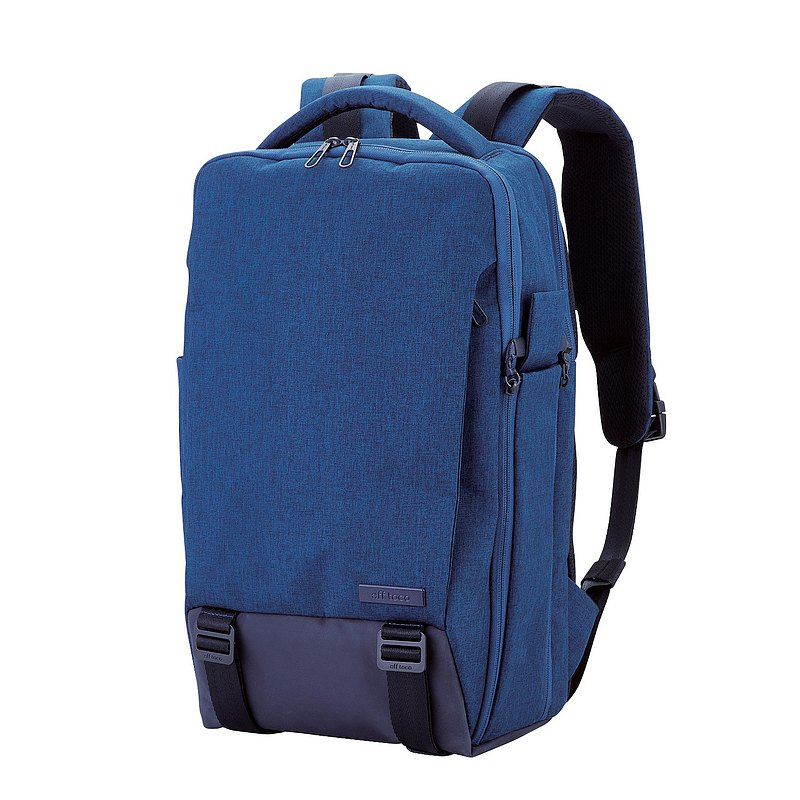ELECOM Canvas Multifunctional 3WAY Backpack/Blue