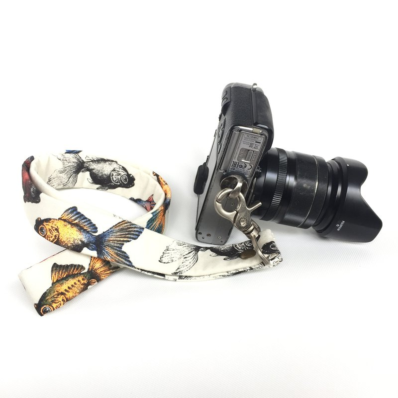 Goldfish Madness Camera Strap