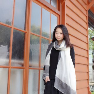 【In Stock】Folding Wool scarf