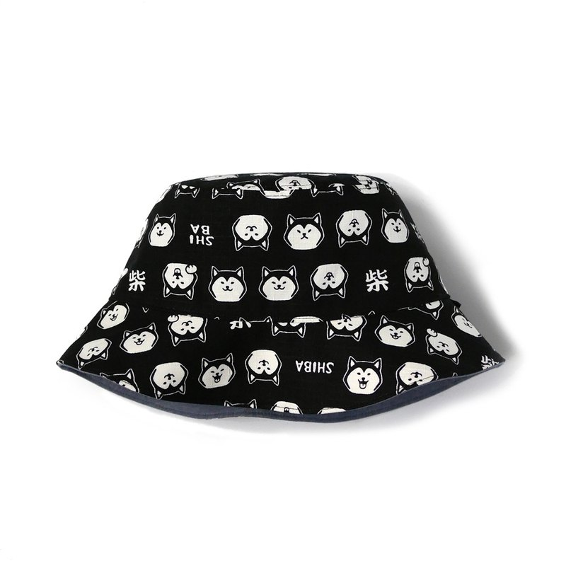 SHIBA Shiba Inu double-sided fisherman hat
