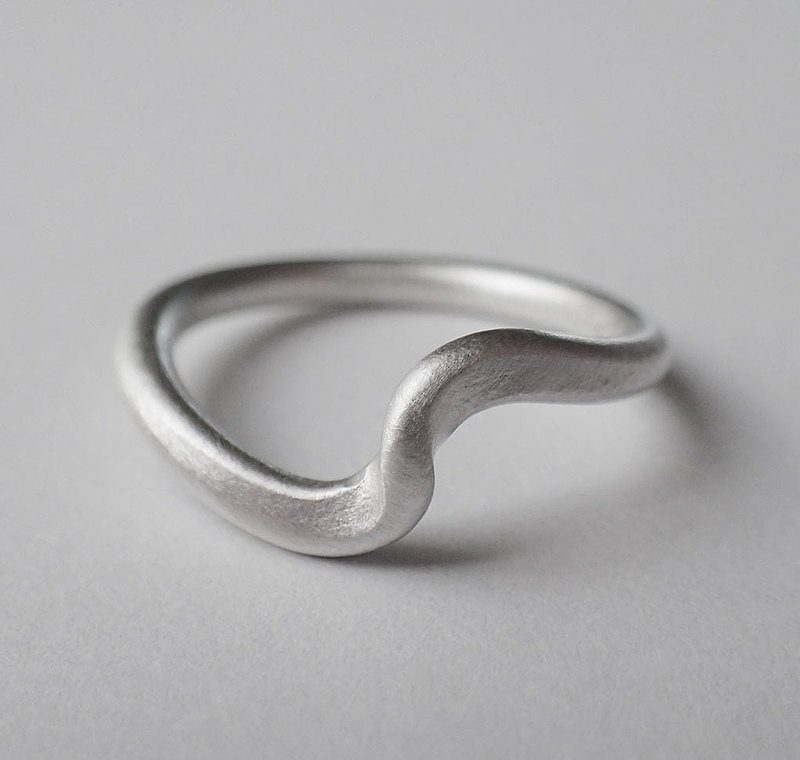 ring, I AM LOVED, Fine Silver