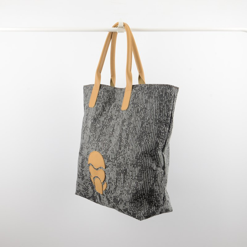 Goriras brown gorilla tote bag  in grey