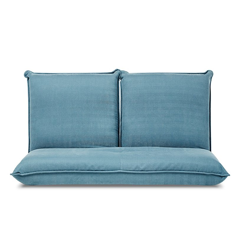 AJ2 │ xiaobo │ blue sky blue │ double sofa and room chair