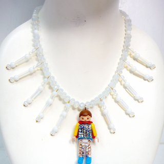 TBL protein crystal necklace interesting necklace doll PLAYMOBIL
