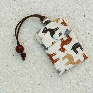 Cute deer card bag / card holder business card bag