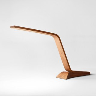 |Old Release | Z Lamp LED Wooden Touch Table Lamp Walnut