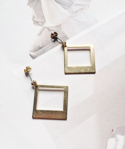 La Don - Framed ear/ear clip