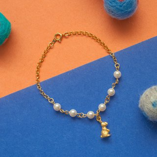 Little rabbit pearl bracelet