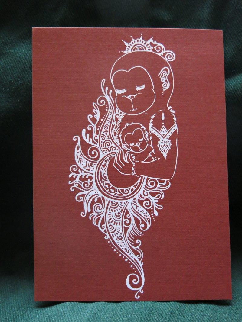 Love TAIWAN 母親的愛  明信片