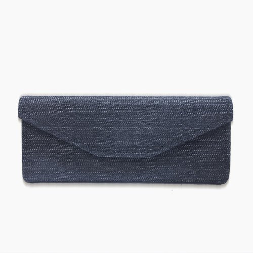 Dark gray denim glasses folding box │ storage box