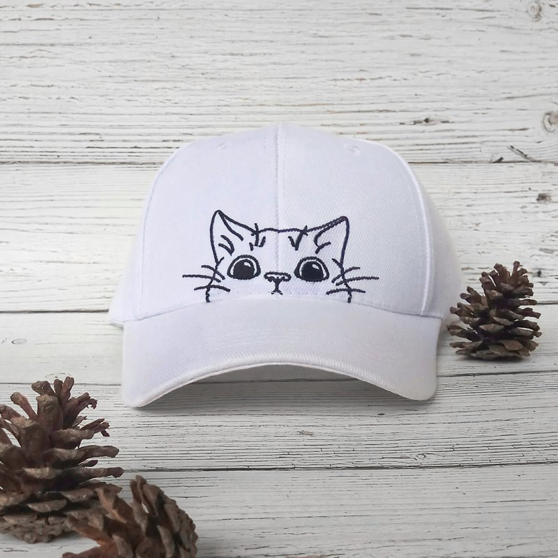 Maotopia | Cats in the head come out!! | Cat baseball caps